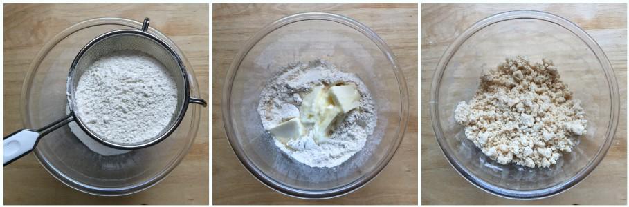 Biscotti zenzero e arancia - procedimento 1
