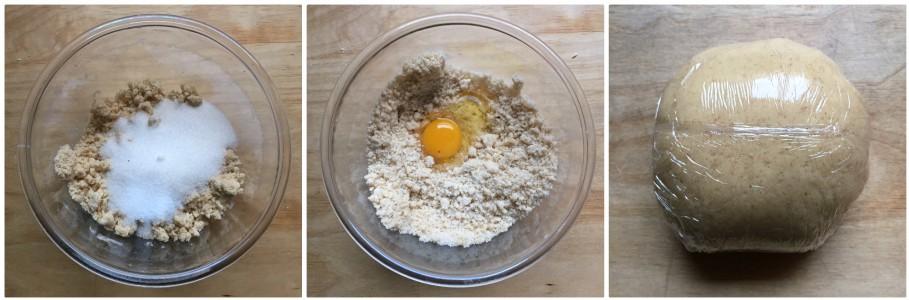 biscotti zenzero e arancia - procedimento 2