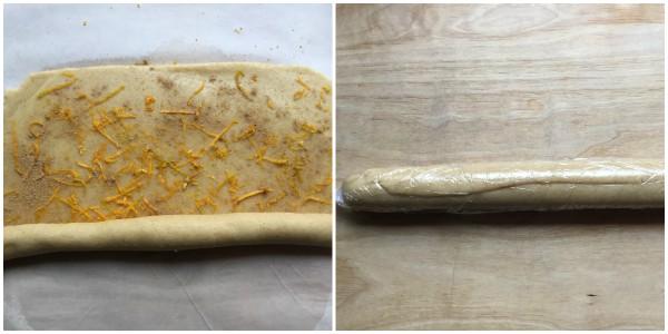 biscotti zenzero e arancia - procedimento 4