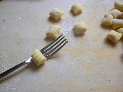 gnocchi di patate - rigati