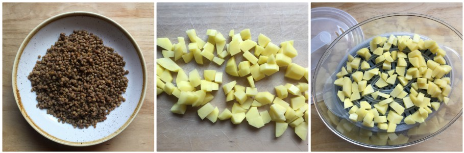 lenticchie e patate