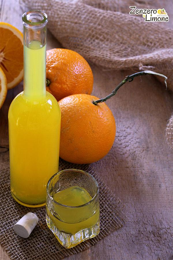 liquore all'arancia -