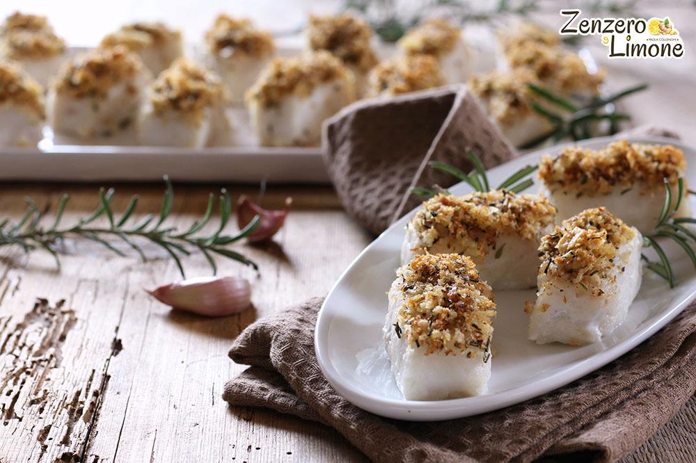 Merluzzo in crosta croccante