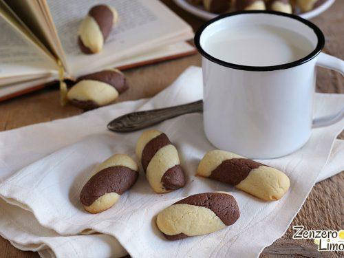 Torciglioni alle mandorle e cacao