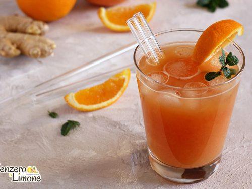 Bibita arancia e zenzero