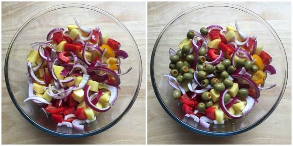 Contorno di verdure al forno - procedimento 3