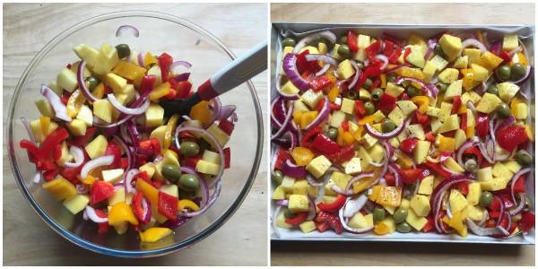 Contorno di verdure al forno - procedimento 4