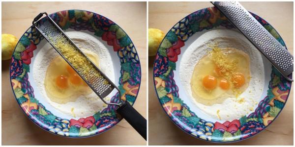 Fettuccine al limone - procedimento 2
