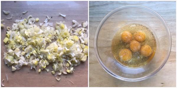 Frittata con patate - procedimento 2