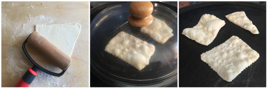 Sgonfiotti di pane - procedimento 4