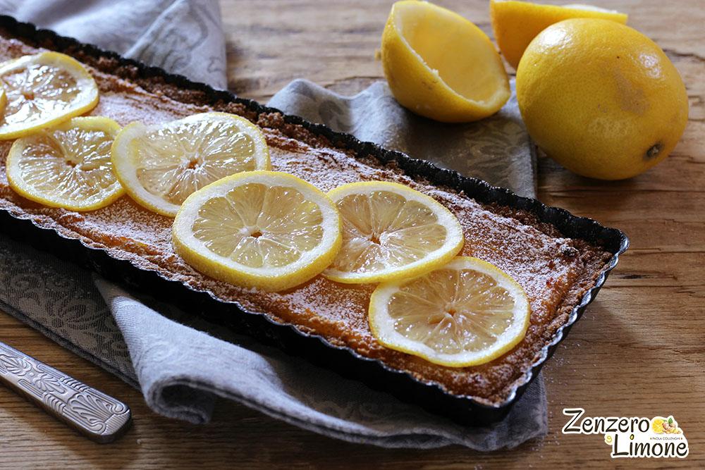 torta di biscotti al limone