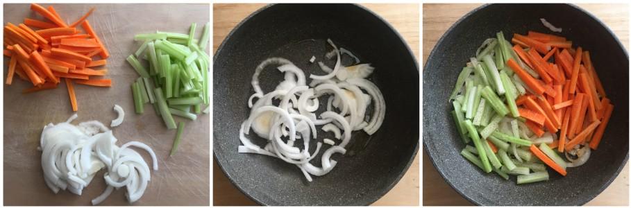 Bocconcini di pollo in umido - procedimento 3