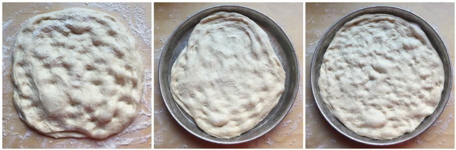 no-knead pizza - procedimento 12