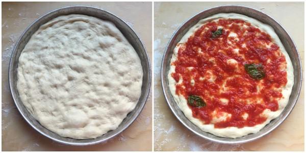 no-knead pizza - procedimento 13