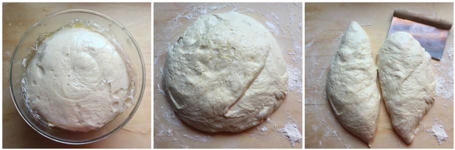 no-knead pizza - procedimento 9
