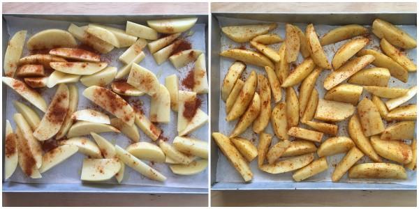 patate alla paprika - procedimento 2