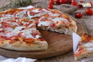 pizza senza impasto - fetta