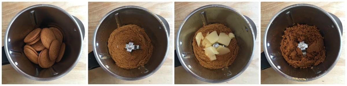 Cheesecake ai due cioccolati - procedomento 1