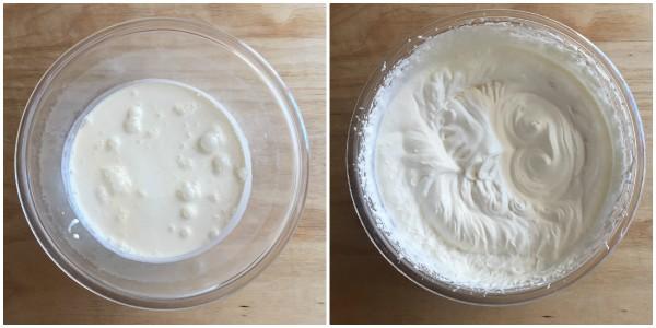 Cheesecake ai due cioccolati - procedomento 4