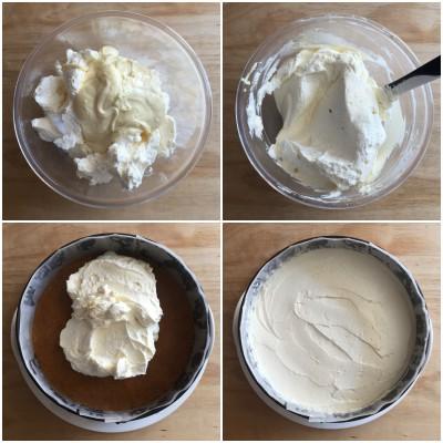 Cheesecake ai due cioccolati - procedomento 6