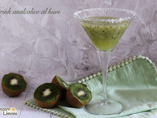 Drink analcolico al kiwi