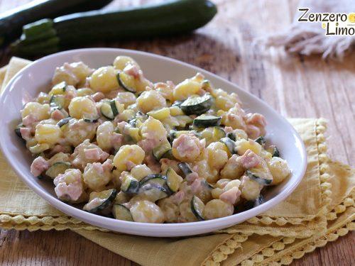 Gnocchetti alle zucchine