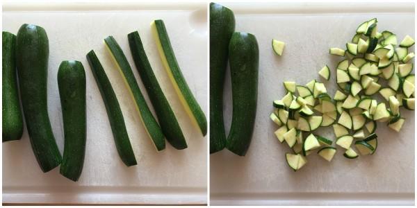 Gnocchetti alle zucchine - procedimento 1