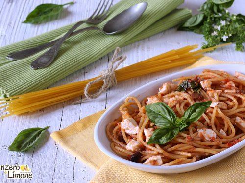 Spaghetti al profumo d'estate