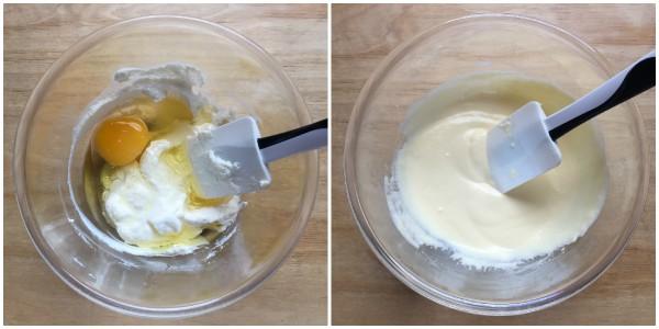 Muffin alla ricotta e mele - procedimento 2