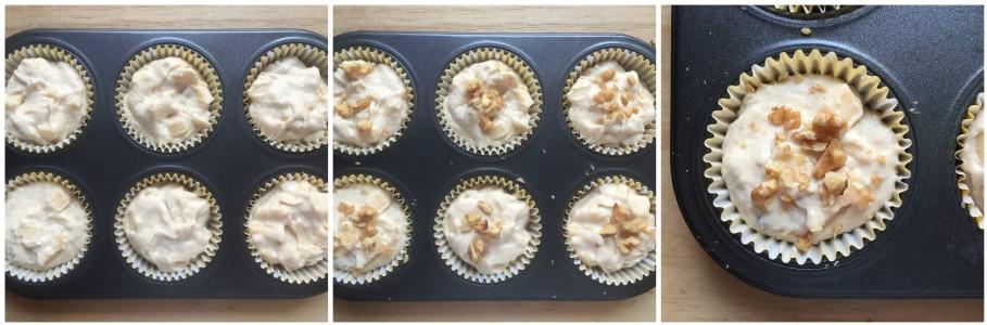 Muffin alla ricotta e mele - procedimento 5