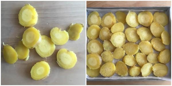 Patate gratinate - procedimento 1
