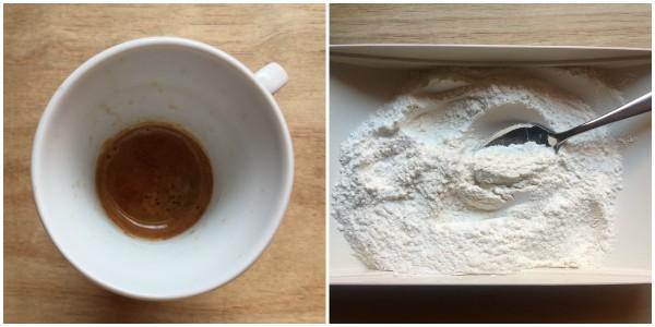 ciambella caffè - procedimento 1