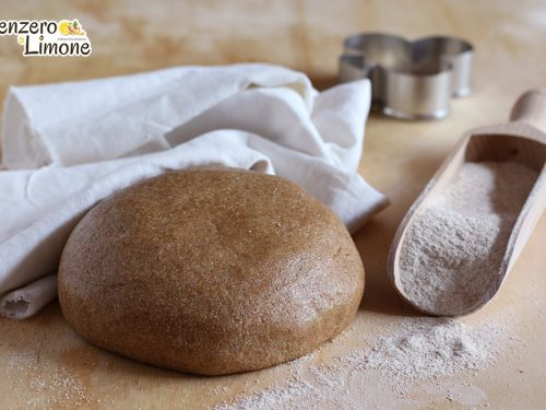 Pasta frolla integrale all'olio