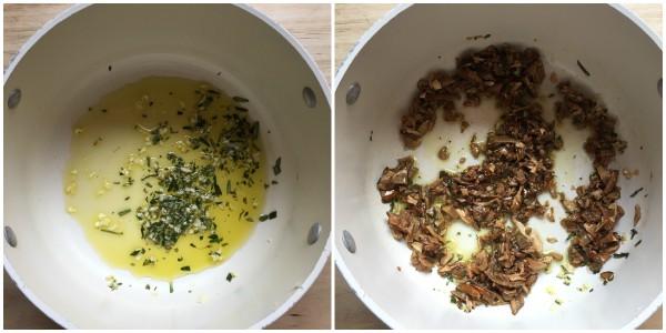 Zuppa di ceci e funghi - procedimento 2