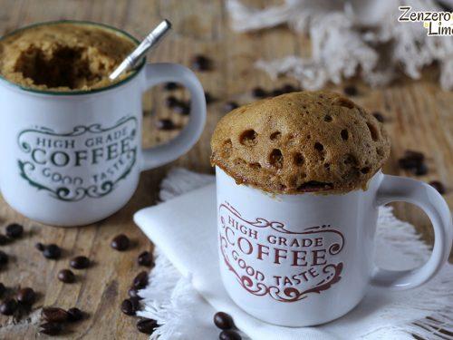 Mug Cake al caffè
