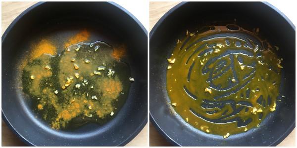 Pasta alla curcuma con zucchine - procedimento 2