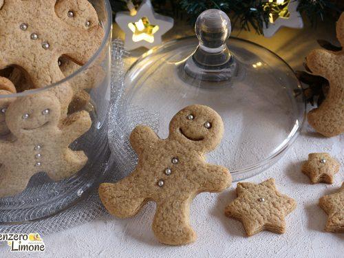 Gingerbread (biscotti pan di zenzero)