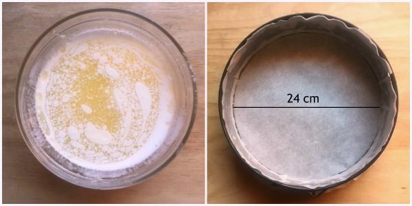 torta ricotta e pinoli -  procedimento 2