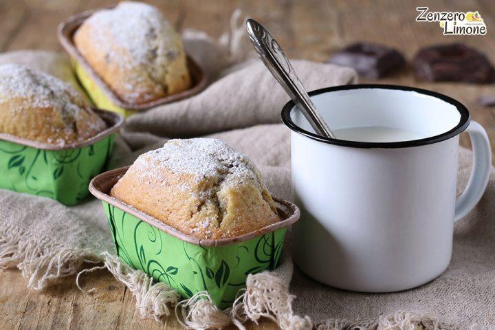 Mini plumcake allo yogurt