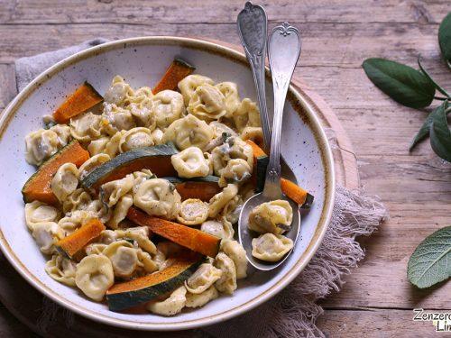Tortellini alla zucca e gorgonzola