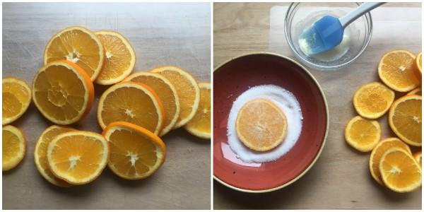 arance caramellate - procedimento 1