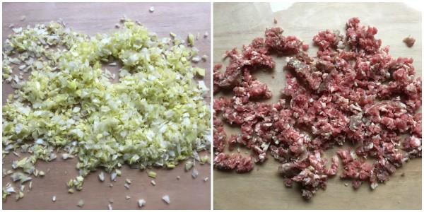 pasta ripiena con salsiccia - procedimento 1