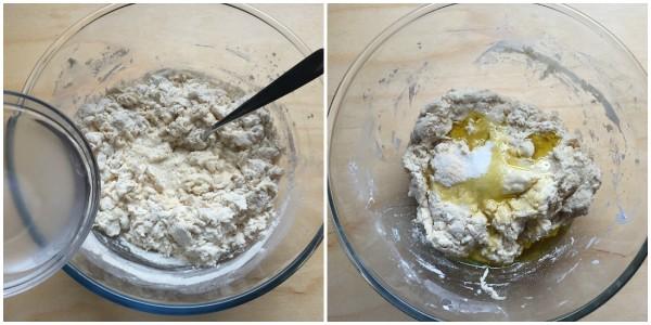 torta di rose salata - procedimento 2