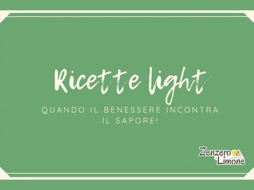 Ricette light: raccolta