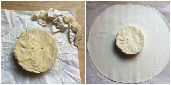Torta salata con Camembert - procedimento 1