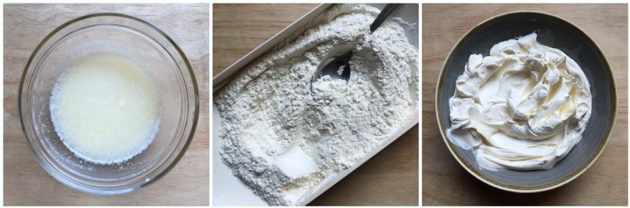 torta con mascarpone - procedimento 2