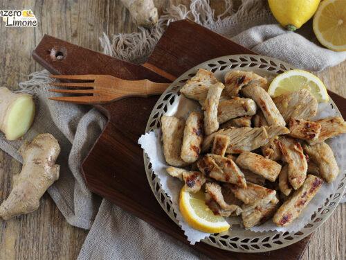 Pollo allo zenzero e limone