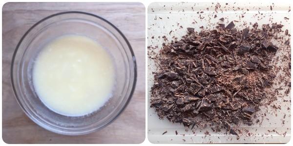 Tortine al cioccolato - procedimento 1