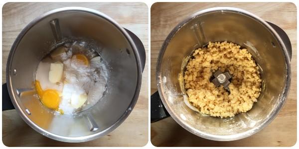Crostata agli amaretti - procedimento 1