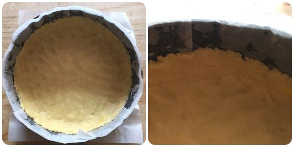 Crostata agli amaretti - procedimento 2